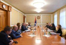 Photo of Встреча с членами делегаций Бельгии, Кипра и Чехии
