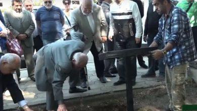 Photo of Շուշիում ամփոփվել է հայ ժողովրդի մեծ բարեկամ Կիմ Բակշիի աճյունափոշու մի մասը