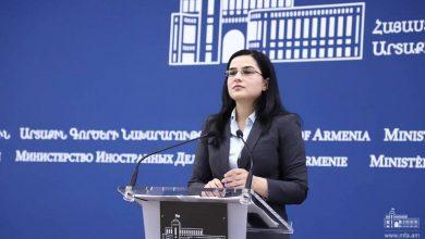 Photo of ՀՀ ԱԳՆ մամուլի խոսնակի մեկնաբանությունը «Վալդայ» համաժողովին Ադրբեջանի նախագահի ելույթի վերաբերյալ