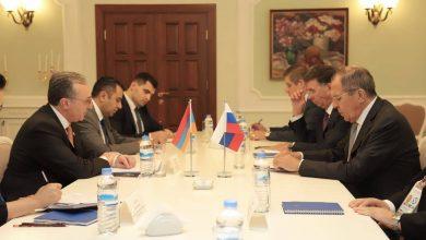 Photo of Главы МИД Армении и РФ обсудили процесс мирного урегулирования нагорно- карабахского конфликта