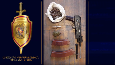 Photo of Ոստիկանության բաժիններում «Կալաշնիկով», նռնակ և ապօրինի այլ զենքեր են հանձնվել