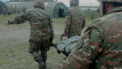 Photo of В Тавуше выстрелом противника ранен военнослужащий контрактной службы, его жизнь вне опасности