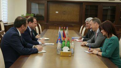Photo of ՀՀ պաշտպանության նախարարն ընդունել է ԵՄ հատուկ ներկայացուցչին