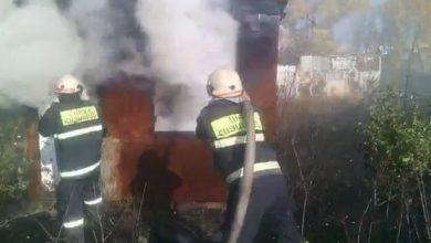Photo of Գյումրիում վագոն-տնակ է այրվել