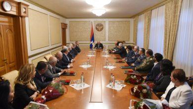 Photo of Արցախի նախագահի նստավայրում տեղի է ունեցել պարգեւատրման հանդիսավոր արարողություն