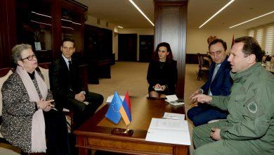 Photo of ՀՀ պաշտպանության նախարարն ընդունել է Հայաստանում Եվրամիության գրասենյակի ղեկավարին