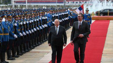 Photo of Սերբիայի պալատում տեղի է ունեցել Հայաստանի նախագահի դիմավորման պաշտոնական արարողությունը