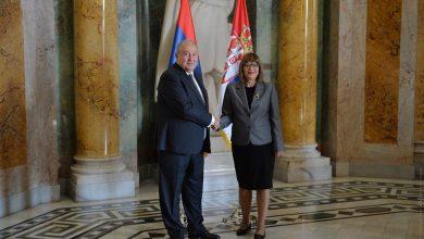 Photo of Մենք ունենք փոխըմբռնման հիանալի մակարդակ և համագործակցության հսկայական ներուժ. նախագահ Արմեն Սարգսյանը հյուրընկալվել է Սերբիայի Ազգային ժողովում