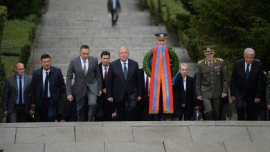 Photo of Բելգրադում Արմեն Սարգսյանը հարգանքի տուրք է մատուցել Անհայտ զինվորի հիշատակին և այցելել հնագույն «Կալեմագդան» ամրոց