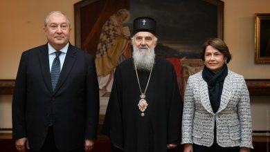 Photo of Հայաստանի նախագահը և Սերբիայի պատրիարքն ընդգծել են Հայ առաքելական եկեղեցու և Սերբ ուղղափառ եկեղեցու միջև ձևավորված ջերմ բարեկամական հարաբերությունները