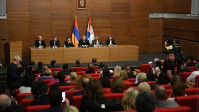 Photo of В армяно-сербских отношениях открывается новая страница. президент РА Армен Саркисян встретился с представителями армянской общины Сербии