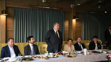 Photo of Армен Саркисян встретился с группой бизнесменов — членов YPO
