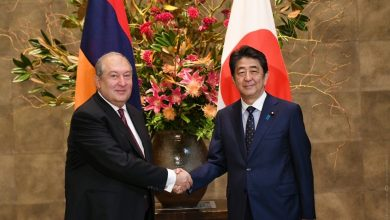 Photo of Ապագան ենթադրում է համագործակցություն. Հայաստանի նախագահ Արմեն Սարգսյանը հանդիպել է Ճապոնիայի վարչապետ Շինձո Աբեի հետ