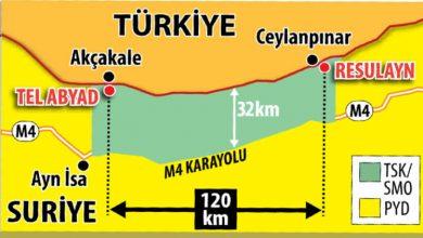 Photo of Սիրիայի հյուսիսում հրադադարից հետո 120կմ շառավղով տարածքը կանցնի Թուրքիայի վերահսկողության տակ