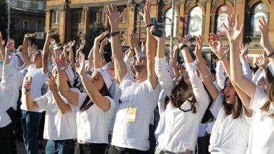 Photo of «Тhank you, world». գյումրեցի դպրոցականները շնորհակալություն հայտնեցին աշխարհին