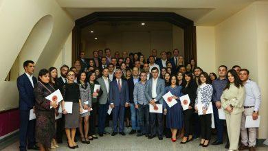 Photo of Սերժ Սարգսյանը մասնակցել է «Անդրանիկ Մարգարյան» քաղաքական դպրոցի շրջանավարտների ավարտական միջոցառմանը