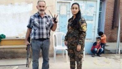 Photo of Отец и дочь армяне сражаются против турок в Сирии