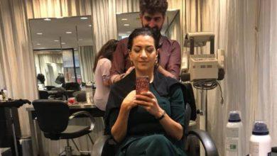 Photo of «Make her beautiful».  Анна Акопян поделилась историей визита к парикмахеру в США