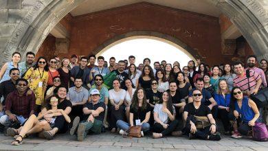 Photo of WCIT համաշխարհային նվագախմբի երաժիշտներն այցելել են Մատենադարան