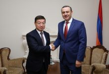 Photo of Աշխատանքային հանդիպում Ղազախստանի Հանրապետության դեսպանի հետ