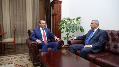 Photo of Հանդիպում Արցախի արտաքին գործերի նախարար Մասիս Մայիլյանի հետ