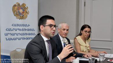 Photo of Ռուստամ Բադասյանը միջազգային դոնոր կազմակերպությունների ներկայացուցիչների հետ քննարկել է արդարադատության ոլորտի բարեփոխումները