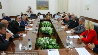 Photo of Члены делегации Франции представили председателю НС предстоящие программы сотрудничества с Арцахом