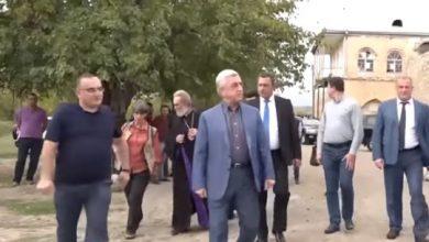Photo of Սերժ Սարգսյանն այցելել է Ամարասի վանական համալիր
