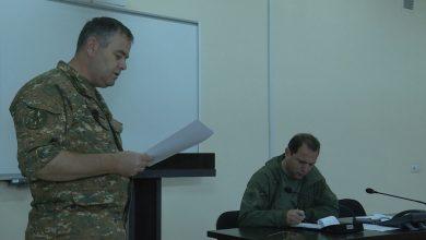 Photo of ՀՀ պաշտպանության նախարարն աշխատանքային խորհրդակցություն է անցկացրել ռազմավարական զորավարժության ղեկավար կազմի հետ