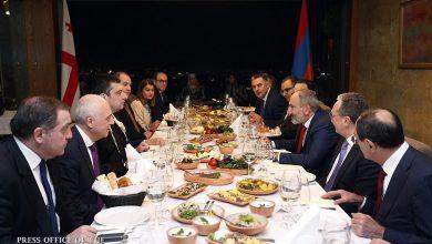 Photo of От имени премьер-министра Пашиняна дан официальный обед в честь Георгия Гахарии