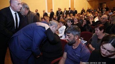 Photo of Վարչապետը մասնակցել է զոհված ոստիկան Տիգրան Առաքելյանի հոգեհանգստի արարողությանը