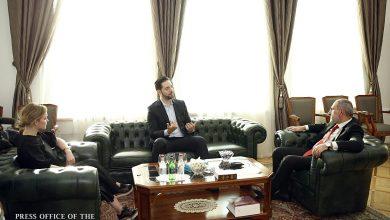 Photo of Премьер-министр Никол Пашинян и Алексис Оганян обсудили вопросы развития сферы ИТ