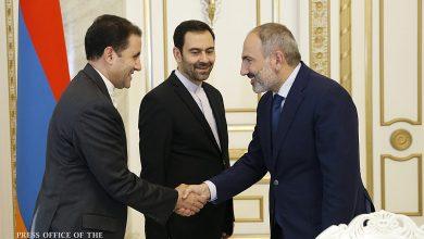 Photo of Премьер-министр Армении принял посла Ирана
