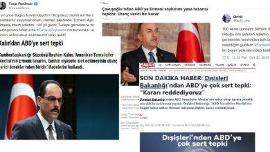Photo of Ինչպե՞ս է Թուրքիան արձագանքել Հայոց ցեղասպանությունը ճանաչող բանաձևի ընդունմանը