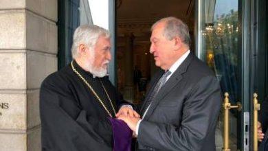 Photo of Արմեն Սարգսյանն ու Արամ Ա–ն հանդիպել են Ժնեւում