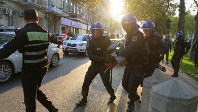 Photo of В Баку задержаны лидер ПНФА Керимли и десятки участников оппозиционного митинга