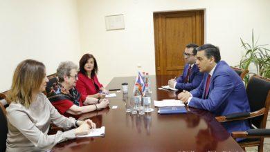 Photo of Արման Թաթոյանն ընդունել է Հայաստանում ԵՄ պատվիրակության նորանշանակ ղեկավարին