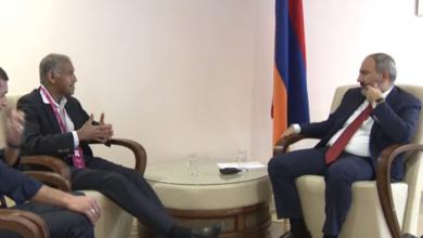 Photo of ՀՀ վարչապետի հանդիպումը WCIT 2019 մասնակից, «VWmare» ընկերության գործադիր տնօրեն Ռաջիվ Ռամասվամիի հետ