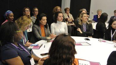 Photo of Աննա Հակոբյանը «Ռեյկյավիկի գլոբալ Ֆորում. կին առաջնորդներ» խորագրով խորհրդաժողովի շրջանակում հանդիպել է Դալիա Գրիբաուսկայտեին