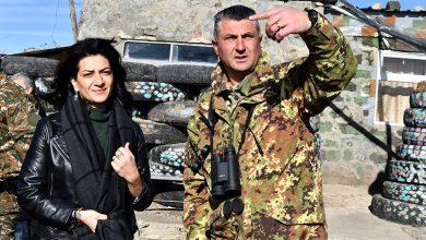 Photo of Супруга премьер-министра посетила позиции и встретилась с военнослужащими