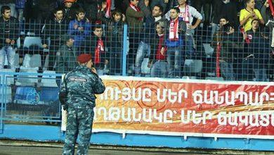Photo of Հայաստան-Հունաստան խաղից հետո մարզադաշտից 4 քաղաքացի բերման է ենթարկվել, 1-ը դիմել է բուժօգնության