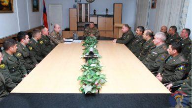Photo of Состоялась встреча командующего Армии обороны с кадрами, на которой присутствовала группа офицеров, представленная на продвижение по службе