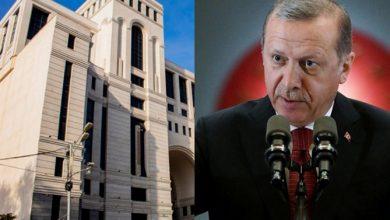 Photo of МИД Армении жестко ответил на заявления Эрдогана в США, оскорбляющие жертв Геноцида