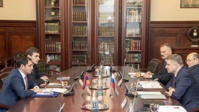 Photo of Սուրեն Պապիկյանը Մոսկվայում հանդիպել է «Ռուսական երկաթուղիներ» ԲԲԸ-ի գլխավոր տնօրենի հետ