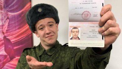 Photo of Испугавшийся армии россиянин сменил свою фамилию на Призыва Нет