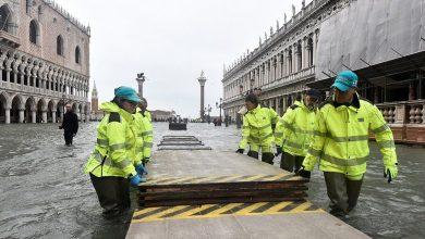 Photo of Венецию затопило еще сильнее. Площадь Сан-Марко закрыта. Фотографии