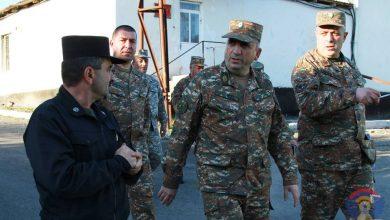 Photo of ՊԲ հրամանատարն աշխատանքային շրջայց է իրականացրել մի շարք զորամասերում