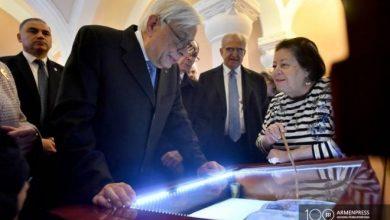 Photo of Հայ ժողովրդի հզորությունը տեսանելի է. Հունաստանի նախագահն այցելել է Մատենադարան