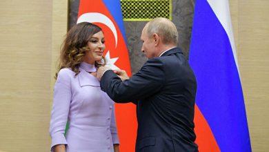 Photo of Путин прикрепил орден «Дружбы народов» к пиджаку Мехрибан Алиевой; МИД России должен ответить на несколько вопросов