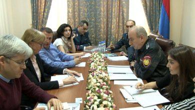Photo of ՀՀ ոստիկանության շտաբի պետն ընդունել է Երևանում գտնվող ԵԱՀԿ պատվիրակության և ՀՀ-ում Եվրամիության գրասենյակի ներկայացուցիչներին
